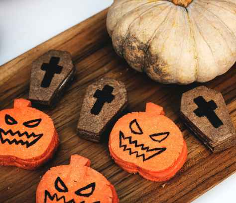coffin and pumpkin breads