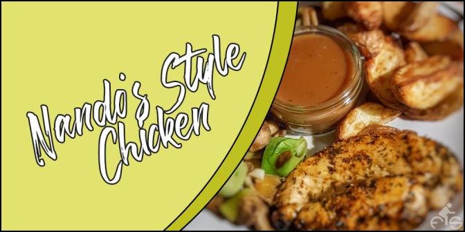 Recipe: Nando's Style Chicken
